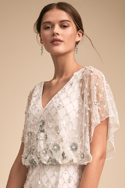 BHLDN Ivory Dayflower Dress | BHLDN