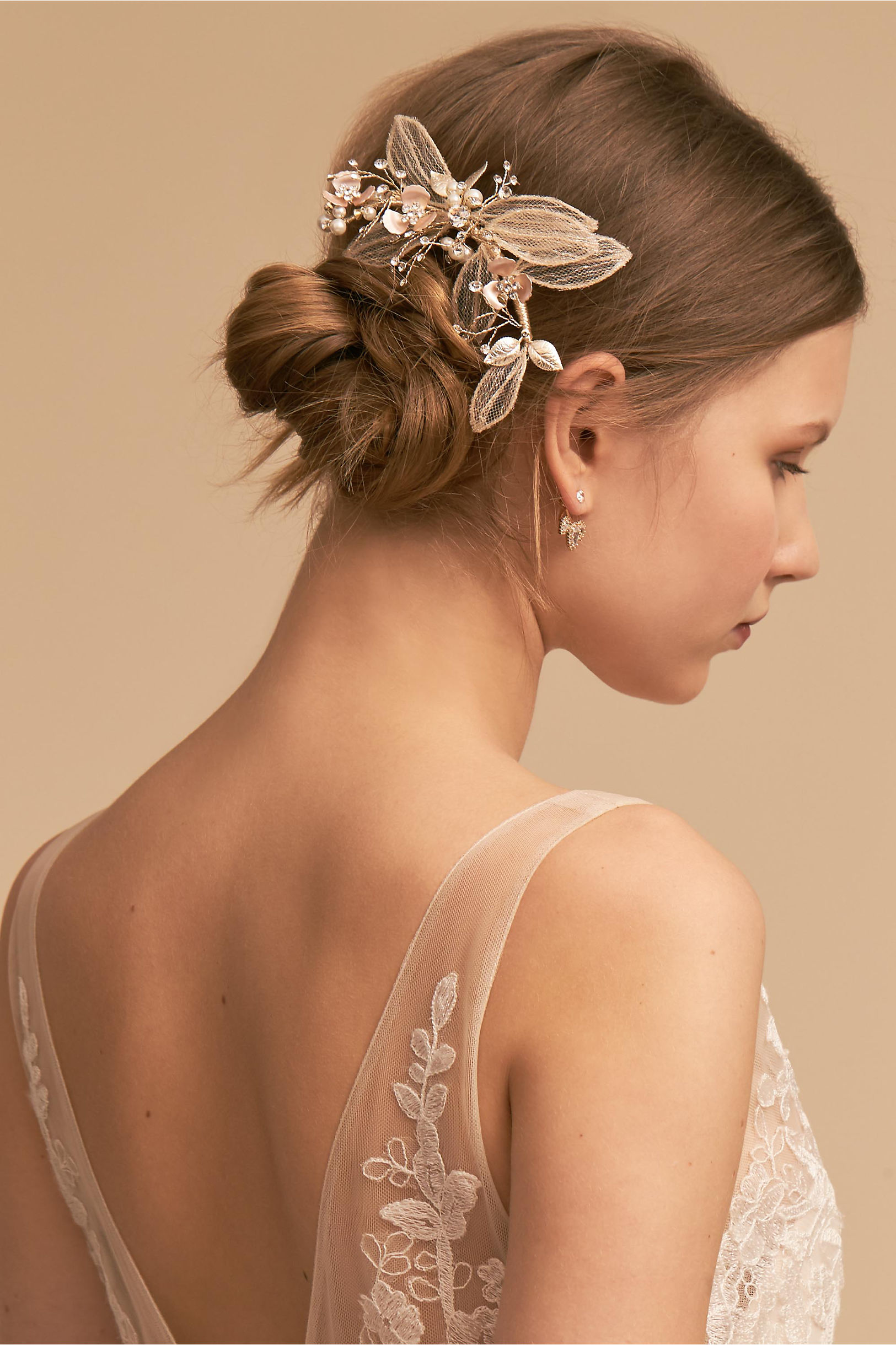 Wedding hair accessories bohemian hair accessories bhldn glory comb glory comb junglespirit Image collections