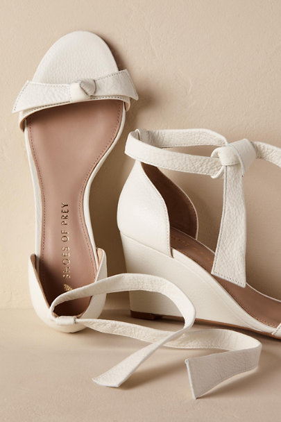 Shoes of Prey Ivory Shoes of Prey Mariposa Wedge Heel | BHLDN