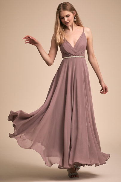 BHLDN Violet Grey Eva Dress | BHLDN