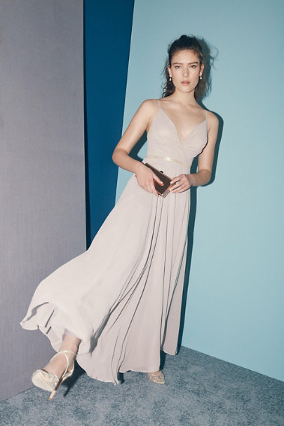 BHLDN Grey Eva Dress | BHLDN