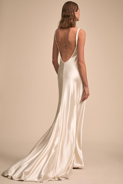 Johanna Johnson Ivory Kerry Gown | BHLDN