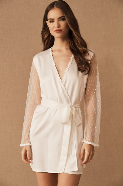 Flora Nikrooz Ivory Showstopper Cover Up | BHLDN