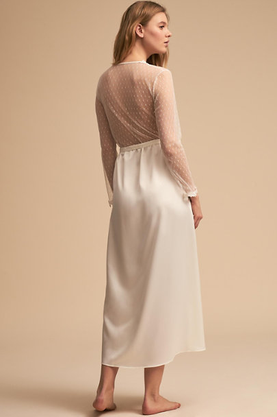 Flora Nikrooz Ivory Showstopper Robe | BHLDN