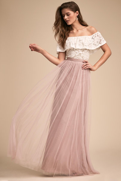 BHLDN Ivory Bonnie Top | BHLDN