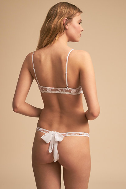 Only Hearts Ivory Fenella Bikini | BHLDN
