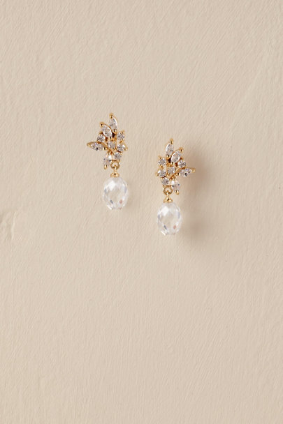 Gold Paola Drop Earrings | BHLDN