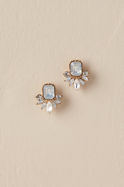 Jardin Gold Wendy Studs | BHLDN