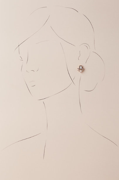 Jardin Blue Wendy Studs | BHLDN