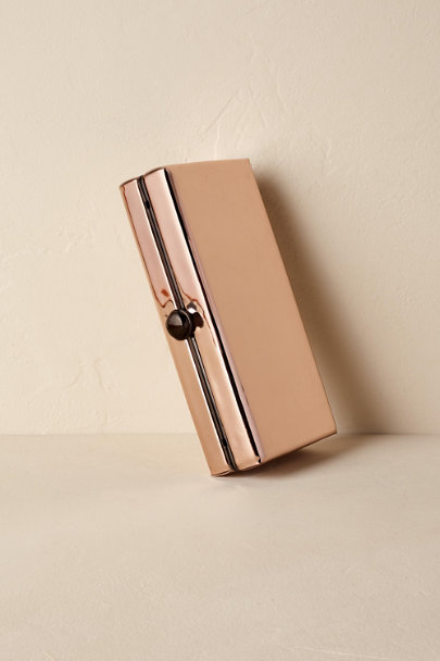 Rose Gold Brooke Clutch | BHLDN