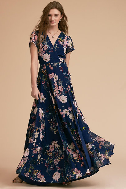 Yumi Kim Belle Bouquet Ink Calypso Dress | BHLDN