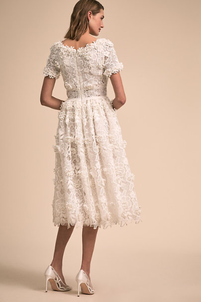 Costarellos Ivory Dixon Gown | BHLDN