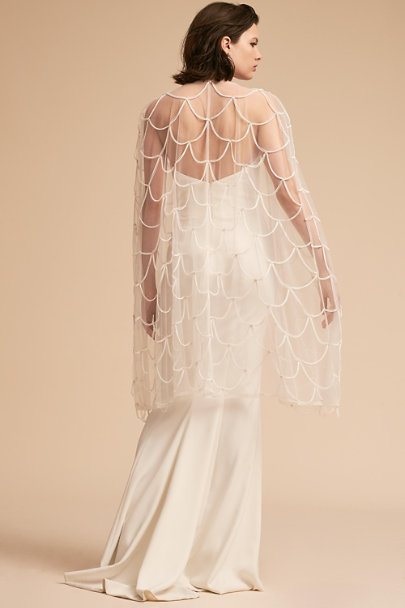 Zakaa Ivory Stratton Cape | BHLDN