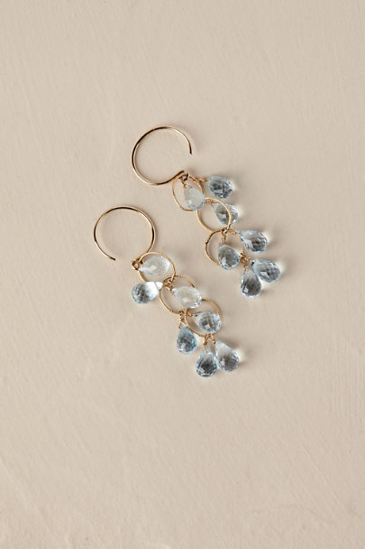 Gold Raindrop Earrings Bhldn