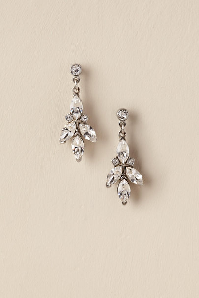 Ben-Amun Silver Therese Drop Earrings | BHLDN