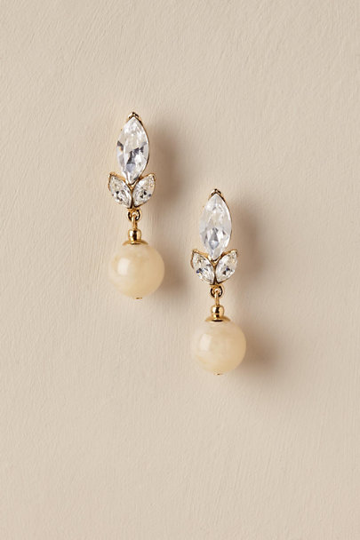 Ben-Amun Gold Salome Drop Earrings | BHLDN