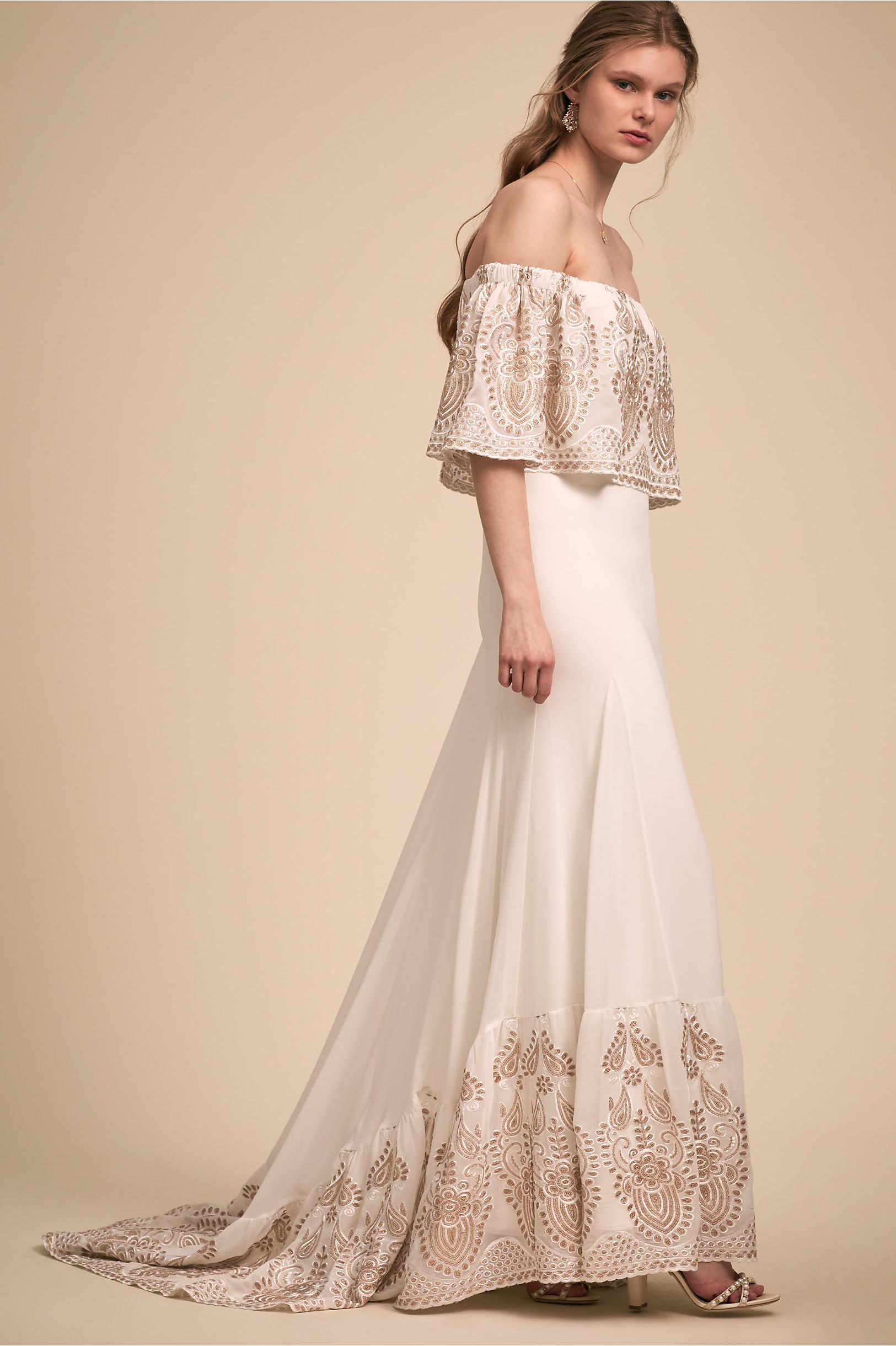 Nomadic Gown Ivory in New | BHLDN
