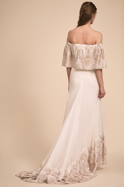 Daughters of Simone Ivory Nomadic Gown | BHLDN
