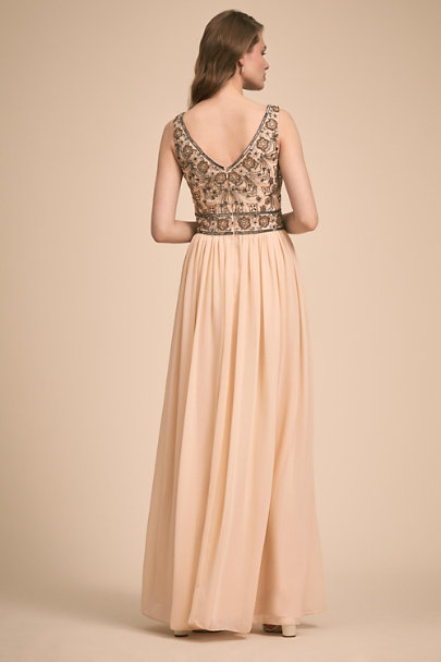 BHLDN Oyster Mischa Dress | BHLDN
