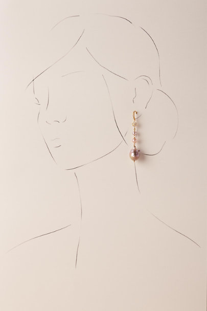 Gold Nami Drop Earrings | BHLDN