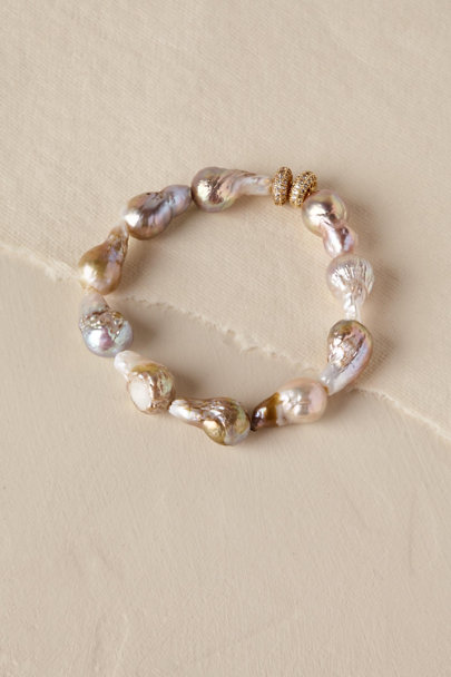 Gold Irvetta Bracelet | BHLDN