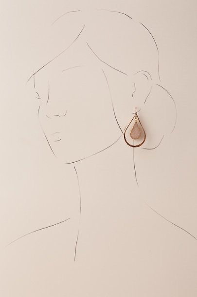 Mickey Lynn Gold Midori Drop Earrings | BHLDN