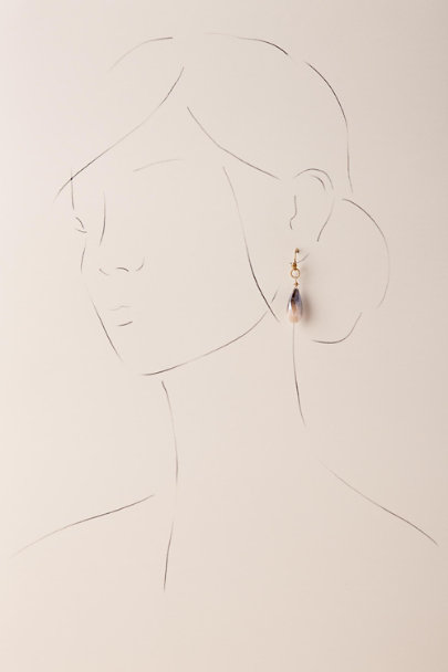 Gold Janine Drop Earrings | BHLDN