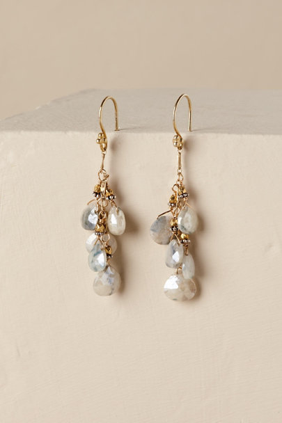 Gold Sheila Drop Earrings | BHLDN