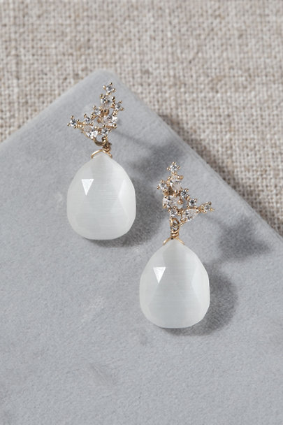 Serefina Gold Jo Drop Earrings | BHLDN
