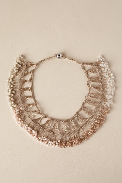 Gold Rosado Necklace | BHLDN