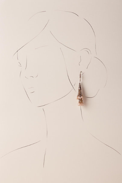 Theia Jewelry Gold Glenna Chandelier Earrings | BHLDN
