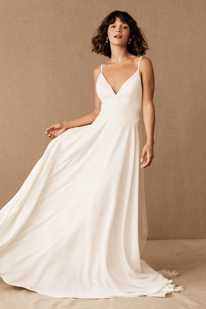 Beloved Gown Ivory in Bride | BHLDN