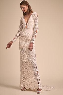 2018 new wedding dress designers bhldn abbott gown junglespirit Choice Image