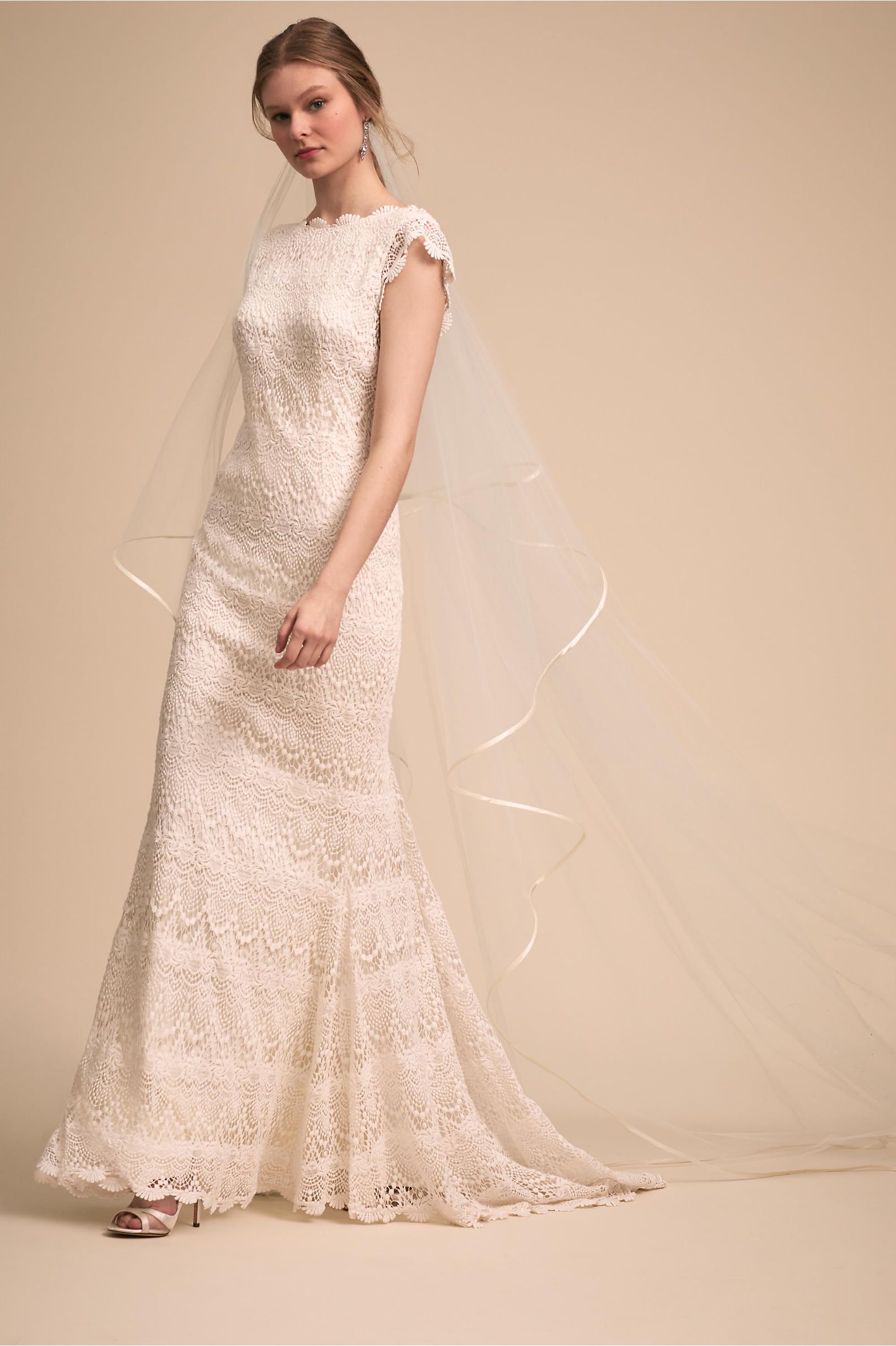 Piper Gown Ivory in New | BHLDN