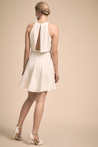 Jill Jill Stuart Ivory Barrett Dress | BHLDN
