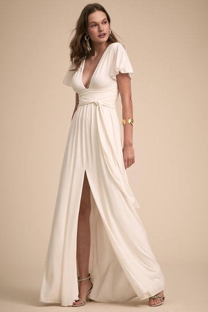 Halston Chalk Zion Dress | BHLDN