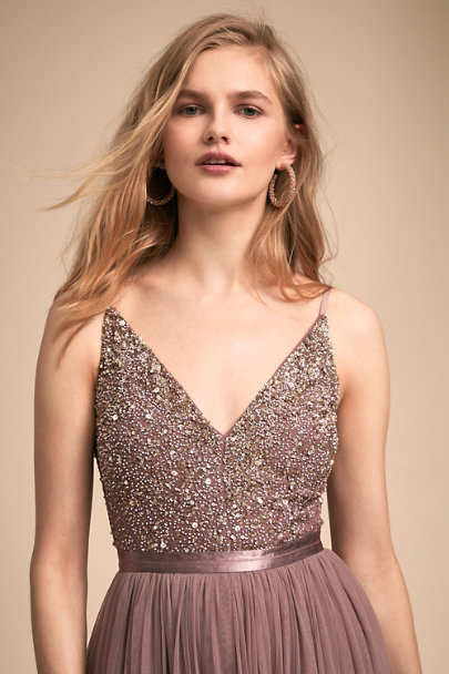 BHLDN Violet Grey Avery Dress | BHLDN