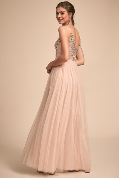 BHLDN Oyster Avery Dress | BHLDN