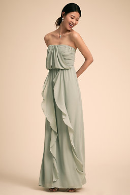Pale Green Bridesmaid Dresses