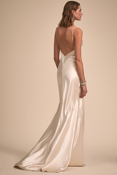 Johanna Johnson Ivory Huxley Gown | BHLDN