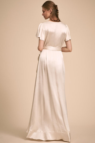 Ghost London Ivory Phoebe Dress | BHLDN