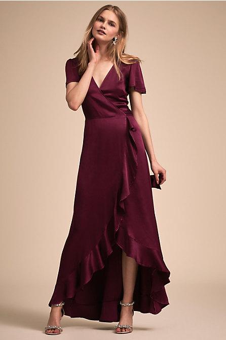 Phoebe Dress Hydrangea In Occasion Dresses Bhldn