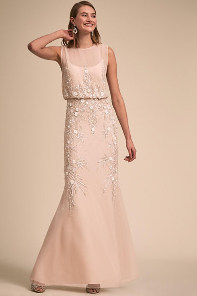 BHLDN Oyster Devon Dress | BHLDN