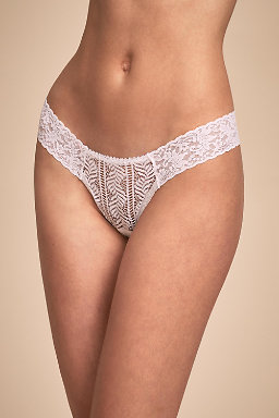 Diamond Low-Rise Thong