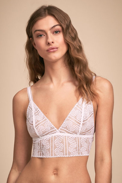 Hanky Panky White Diamond Bralette | BHLDN