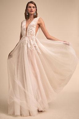 2018 new wedding dress designers bhldn abilene gown junglespirit Choice Image