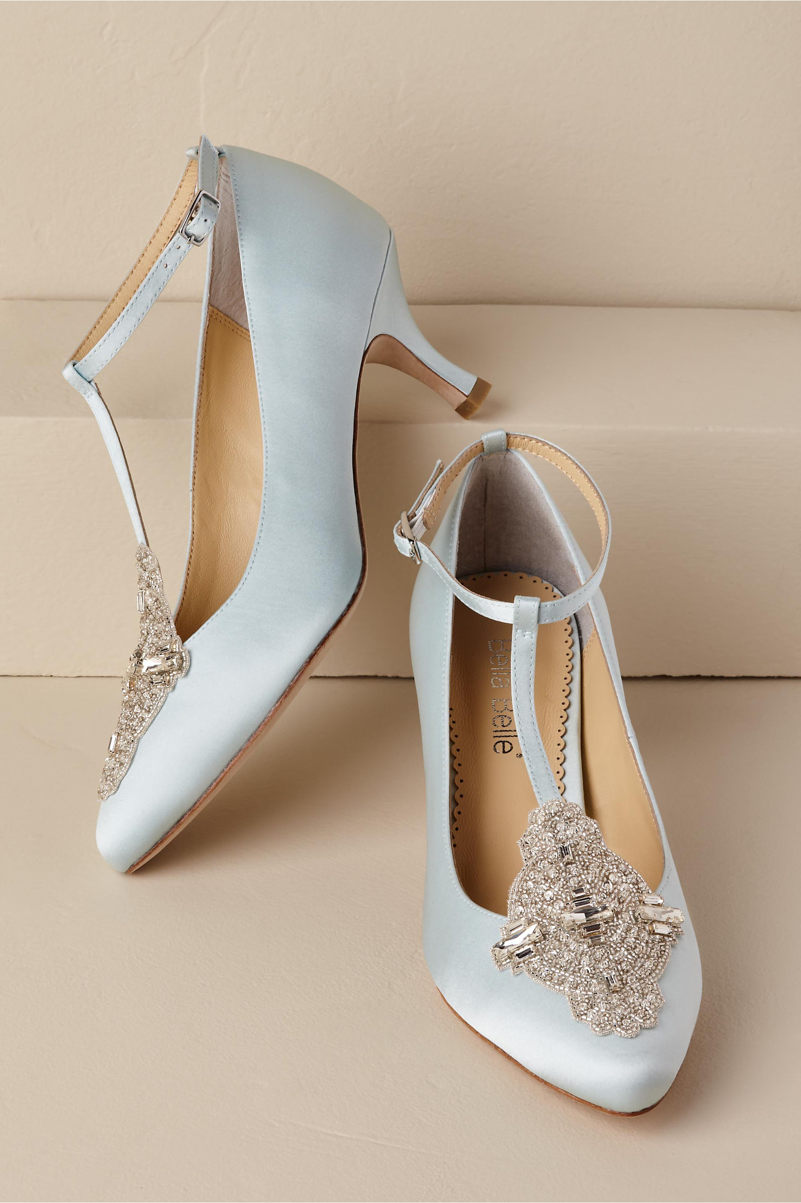Vintage Inspired Wedding Dress | Vintage Style Wedding Dresses Annalise Heels $335.00 AT vintagedancer.com