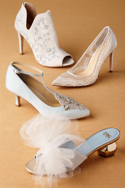 Bella Belle Blue Annalise Heels | BHLDN