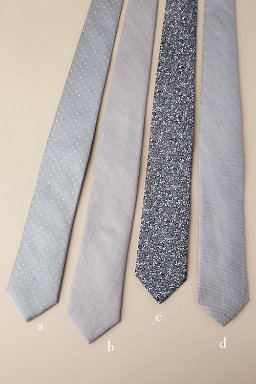 Tie Bar Morning Mist Collection