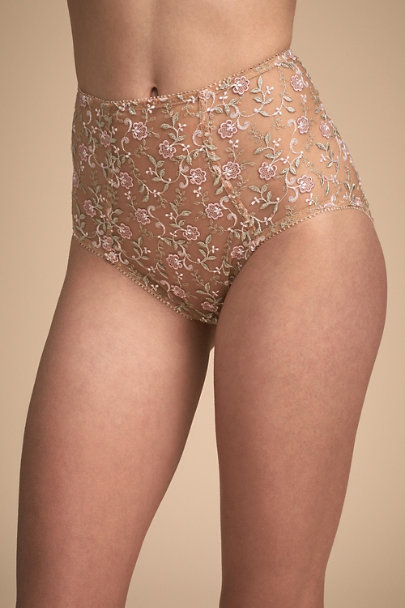 Va Bien Nude Lavelle Highwaisted Briefs | BHLDN